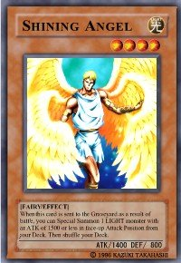 Shining Angel (For use in Yugioh Online 2 ONLY)
