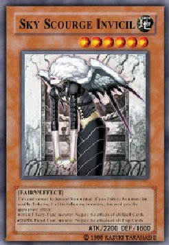 Sky Scourge Invicil (For use in Yugioh Online 2 ONLY)
