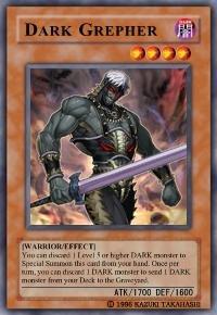Dark Grepher (For use in Yugioh Online 2 ONLY)