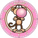 Personalized Bobby Jack Text Me Bubblegum Clock #1