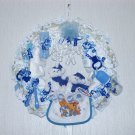 Baby Blue Diaper Wreath#001
