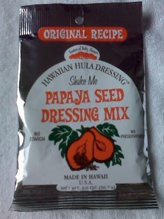 Hawaiian Hawaii PAPAYA SEED salad dressing MIX