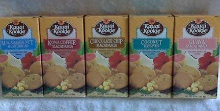Hawaiian homestyle cookies - Kauai Kookie - 5 boxes set