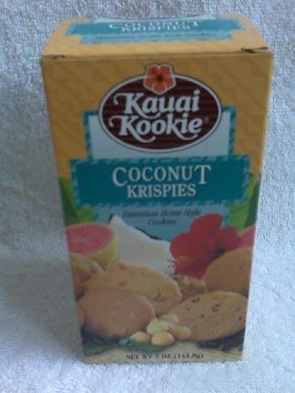 Hawaiian Home Style Cookies - Kauai Kookie - Coconut Krispies