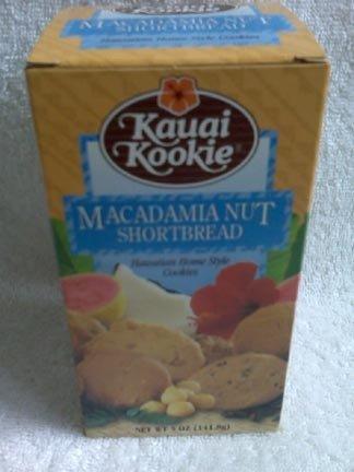 Hawaiian Home Style Cookies - Kauai Kookie - Macadamia Nut Shortbread