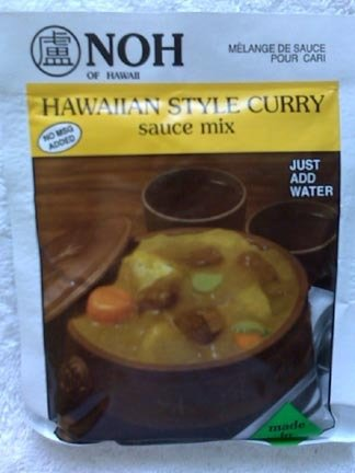 Traditional Hawaiian Style curry sauce mix - 2 packages