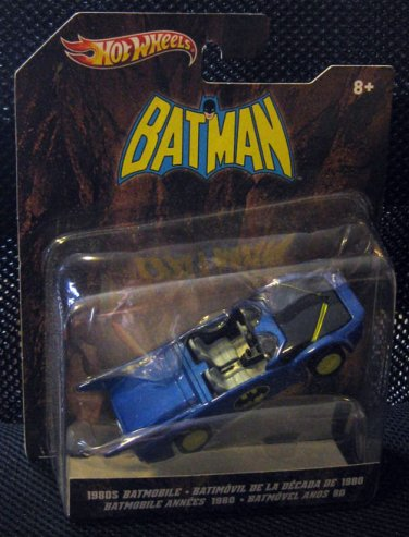 1980s Batmobile Hotwheels - DC Super Powers