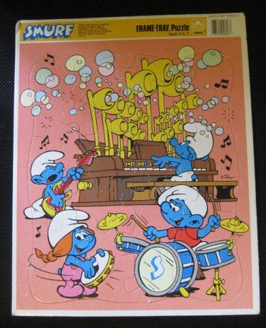 Smurfs - Puzzle board