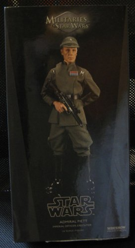Admiral Peitt - Militaries of Star Wars - Sideshow Toys - SDCC Exclusive