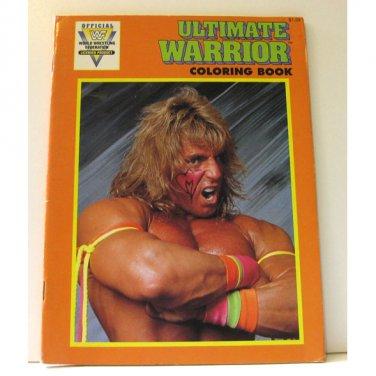 WWF Ultimate Warrior Coloring Book