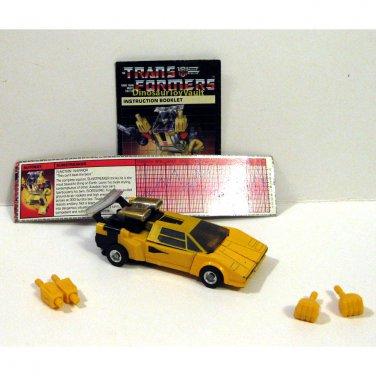 Sunstreaker - Autobots Transformers Generation 1