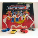 Race Patrol - Transformers Generation 1 Micromasters