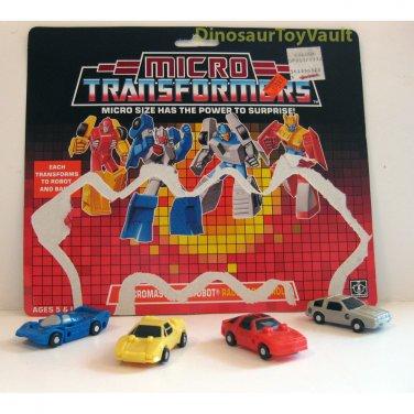 Race Patrol - Transformers Generation 1 Micromasters