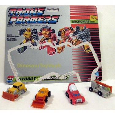 Construction Patrol - Transformers Generation 1 G1
