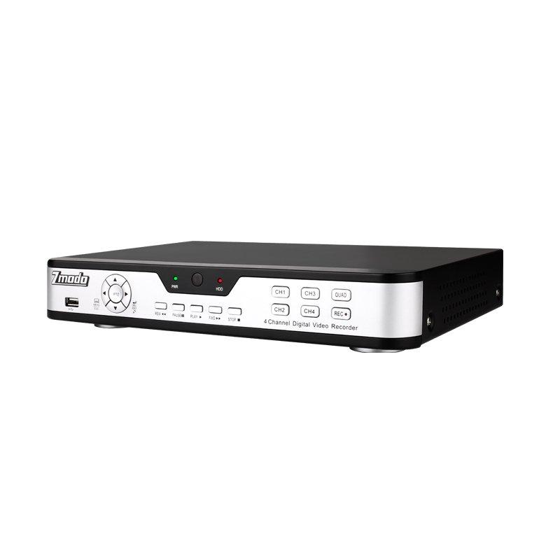 ZMODO DVR-H9104UV- 4 CH Channel CCTV Surveillance Home Security DVR System