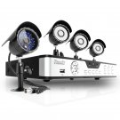 ZMODO 4CH DVR Video Surveillance System with 4 CCTV Sony CCD Outdoor  Security Cameras-KDA4-NARQZ4ZN