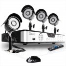 Zmodo 8CH Security DVR System with 4 Sony IR CCD Outdoor CCTV Surveillance Cameras -KDS8-NARQZ4ZN-5G
