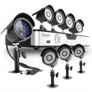 ZMODO 8CH CCTV Video Security System with 8 Sony IR CCD Outdoor Surveillance Cameras -KDS8-NARQZ8ZN