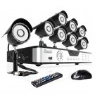ZMODO 8CH CCTV Video Surveillance System with 8 Sony CCD Outdoor Security Cameras - KDS8-NARQZ8ZN-5G