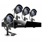 Zmodo 8CH Security DVR System with 4 Sony IR CCD Outdoor CCTV Cameras -KDF8-NARQZ4ZN