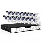 Zmodo Great 16 CH Surveillance DVR System with 16 Sony CCD Bullet Cameras  KDH6-DASFZ6ZN