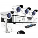Zmodo 8CH CCTV Security Surveillance System with 4 Sony CCD Outdoor Cameras & KDS8-DASFZ4ZN-1TB