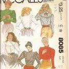McCall's blouses 8085 Uncut Vintage 1982 size B34
