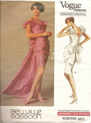 Vogue Bellville Sassoon dress gown 2277 gorgeous!