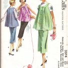 Mccall's Maternity Pattern 3375 vintage 1955 Size 12 B32