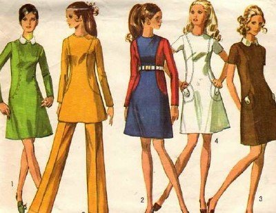 Vintage Simplicity Pattern 8381 Size 14, B36