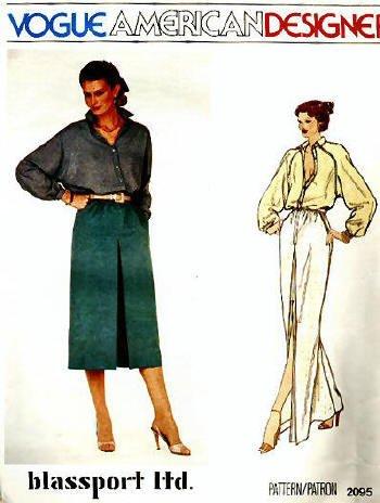 Vogue American Designer Pattern 2095