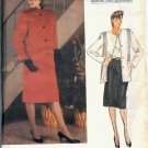 Vintage Vogue Pattern 1388 Joseph Picone jacket & skirt Size 12