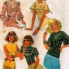 McCall's Vintage Blouses Pattern 4610 Size 14
