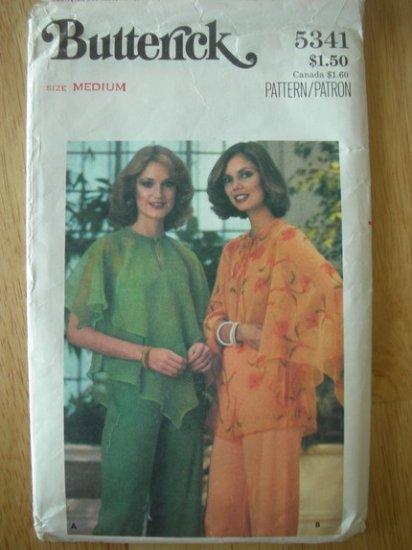 Vintage Butterick 5341 tops blouse pattern