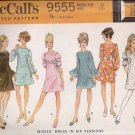 Vintage Dress pattern McCall's 9555 Size 10