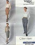 Vogue 2392 Calvin Klein Designer pattern