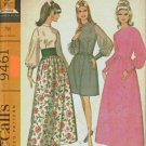 Vintage McCall's Pattern 9461 dress Size 10-12