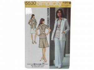 Vintage Petite Miss Size 10mp; Bust 32 1/2 Simplicity 5530