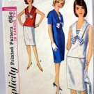 Vintage Simplicity Blouse, Skirt, Dress Pattern 5840 B32