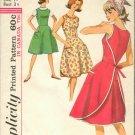 Vintage Simplicity Pattern 5449 wrap around dress size 16 B36