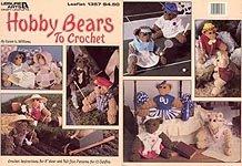 Hobby Bears to Crochet by Karen G. Williams Leisure Arts