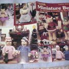 Miniature Bears to crochet Sue Penrod