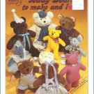 Teddy Bears to make and love Nora Fran Dilks
