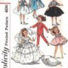 Simplicity pattern 2254 Vintage Doll Clothes Sewing Size 10 1/2""