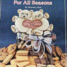 Cookie Jars for All Seasons by Rosemary West tole painting book