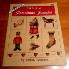 Tole decorative painting book Ink & Scrub Christmas Sampler Corrine Severson
