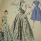 Vintage Butterick pattern 7687 DRESS AND BOLERO JACKET SET Size 16, B34