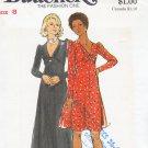 Butterick Vintage Dress Pattern 3433 Size 8, Bust 31 1/2