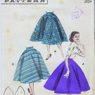 vintage Sewing Pattern Butterick 7457 size waist 24