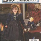 Daisy Kingdom Dress & Doll Dress pattern UNCUT 7348 Simplicity